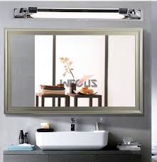 nordic mirror front lamp golden body anti fog bathroom mirror