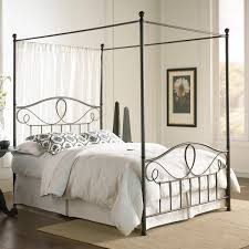 Black Four Poster Bed Frame Bedroom Stunning Bedroom Decoration With Black Wood Four Poster