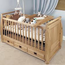 Childrens Bedroom Oak Furniture Amelie Oak Cot Top Baby Changer Amelie Oak Children U0027s Bedroom