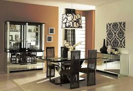 Modern Home Interiors Perfect Small Dining Room Ideas Modern With Wallpaper Interior