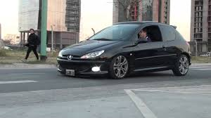 peugeot 206 sport peugeot 206 hdi suspension neumatica puerto madero youtube
