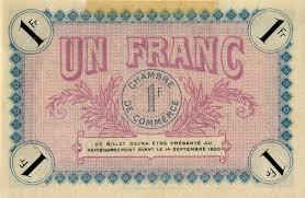 chambre du commerce auxerre billets de nécessité 1914 1918 auxerre yonne chambre de