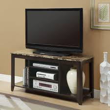 console table tv stand monarch specialties i 3525 tv console table lowe s canada