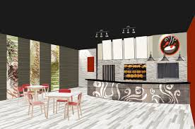 Fast Casual Restaurant Interior Design Smokin Chikin Restaurant Branding U0026 Interior Design By Vigor