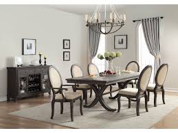 homelegance dining room dining table oak veneer 1947 96 hickory