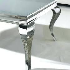 Criss Cross Coffee Table Modern Chrome Glass Criss Cross Coffee Table Shropshire Design