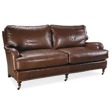 Leather Apartment Sofa Loveseat Midsofa Luxe Home Company