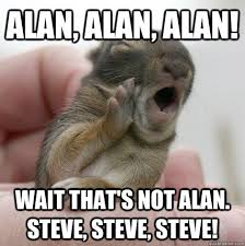 Alan Meme - alan alan alan wait that s not alan steve steve steve