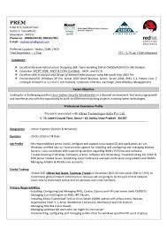 Network Administrator Resume For Fresher Ccna Resume Resume Cv Cover Letter