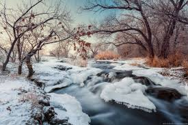 beautiful winter landscapes u2013 the krynka river ukraine travel blog