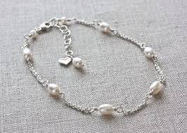 pearl bracelet with silver charm images 249 best beaded jewelry pearls images necklaces jpg
