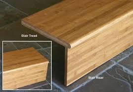 bamboo stair tread stair riser stair step stair case
