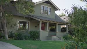 Two Story Craftsman by Day Low Angle Nice Two Story Craftsman House Wood House Light