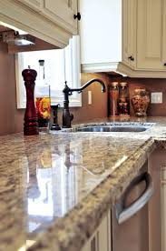 granite countertop kitchen floor ideas with white cabinets faber