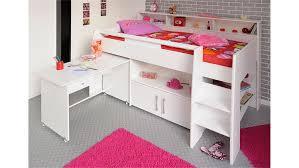 Schreibtisch 90 Swan Mit Schreibtisch Weiß 90x200 Integrierte Kommode