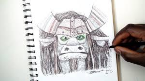 sketch sunday 18 how to draw kai kung fu panda 3 demoose art