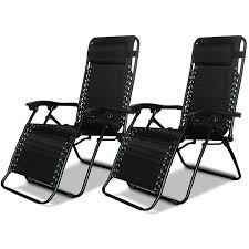 Zero Gravity Chair Target Caravan Canopy Black Zero Gravity Chairs Pack Of Two Free