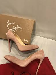 women christian louboutin pigalle follies 100 suede heels size