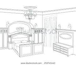 draw a room bedroom perspective drawing one point perspective drawing city how
