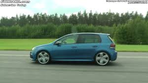 volkswagen golf r dsg vs renault megane rs youtube