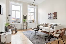 scandinavian livingroom creative scandinavian home interior combined with plants decor