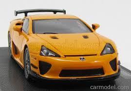 orange lexus lfa ebbro eb44638 scale 1 43 lexus lfa nurburgring package 2011 orange