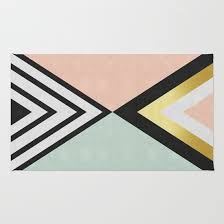 Fashion Rugs Abstract Rugs Society6