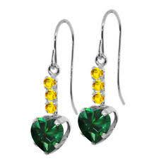 emerald drop emerald drop dangle earrings ebay