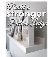 Ikea Ribba Picture Ledges Bonnieprojects Picture Ledge Tutorial