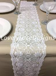 lace table runners wedding lace table runners iamfiss com