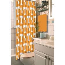 ncaa university of tennessee decorative bath collection shower