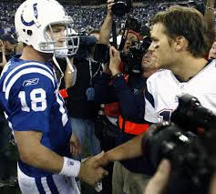 Peyton Manning Tom Brady Meme - rivals brady manning to meet for 17th and likely last time