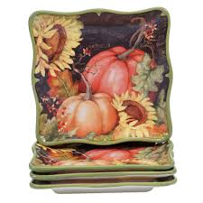 household essentials dessert plate with bowl storage chest canvas