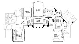 chateau floor plans majestic chateau 12100jl architectural designs house plans