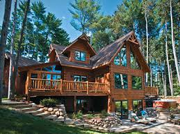 log homes kits complete log home packages cust the leelanau log home company