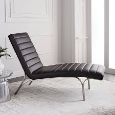 leather chaise lounge sofa emil leather chaise west elm