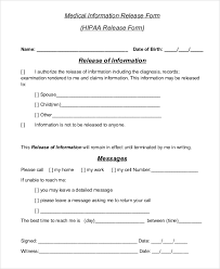 release of information forms web form templates customize u0026 use