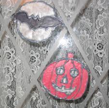 halloween window clings or decals