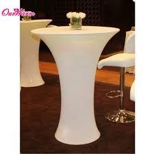 Spandex Table Cover Aliexpress Com Buy Lycra Cocktail Table Cover Spandex Tablecloth