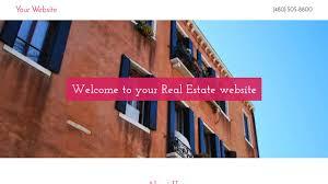 real estate website templates godaddy