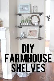 best 25 farmhouse shelving ideas on pinterest half bathroom