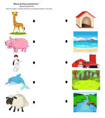 all of these worksheets are matching for kids free printable