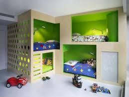 Four Bunk Beds For Kids Room Design Maximizing Space And Functionality - Kids room bunk beds