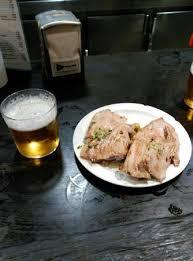 plancha de cuisine tapas de gambitas fritas y atún a la plancha picture of rincon de