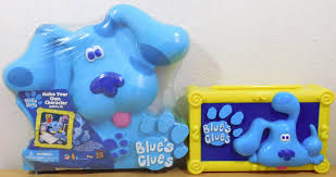 new blues clues create your own characer activity box dog shape