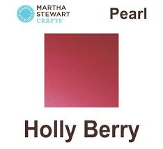 martha stewart paint ms craft pearl holly berry pl32113