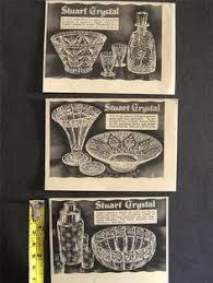 Stuart Crystal Vase Designs Stuart Crystal Advert Stourbridge Glass Pinterest Crystals