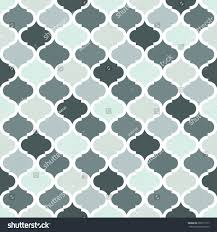 geometric trellis pattern grey seamless background stock vector