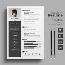 Modern Professional Resume Template 20 Professional Resume Template Psd Download