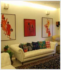 Circus Home Decor India Circus Cushion Covers Patterned Rugs And Paintings Of Monks